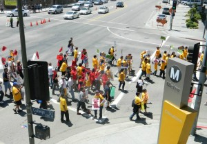 March Againt Walmart 2012